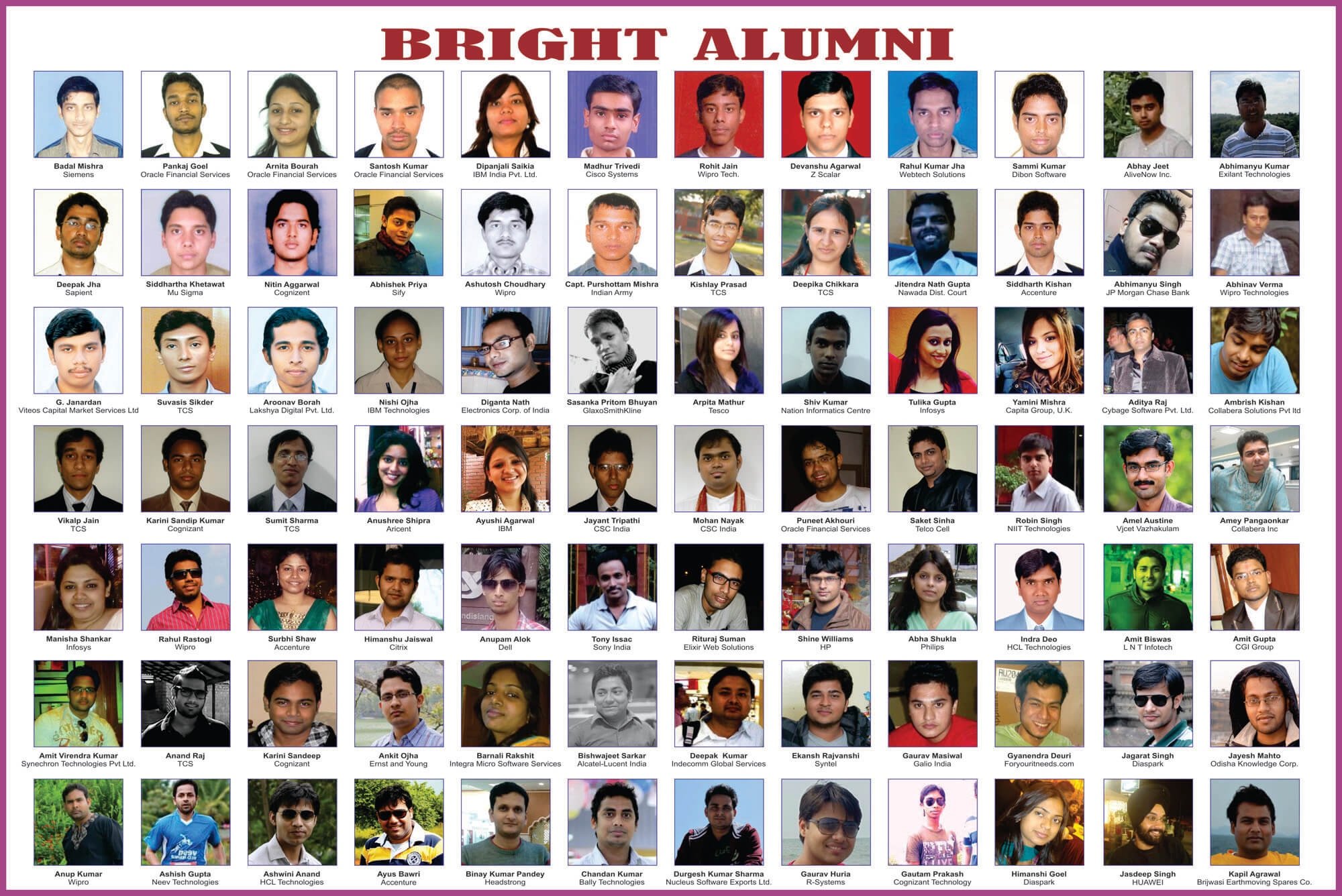 Bright Alumnus 2013- Part1
