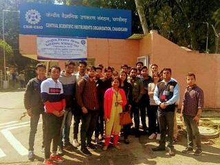 Visit to CSIO Chandigarh