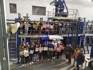 Industrial Visit to Dainik Bhaskar