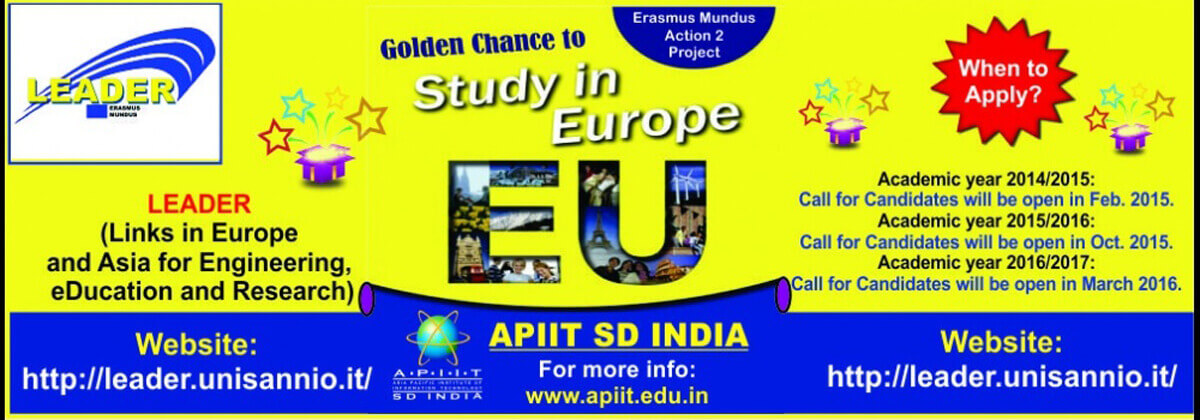 Do you want to study in Europe?