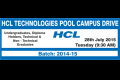 HCL Pool Campus Drive @ APIIT !!